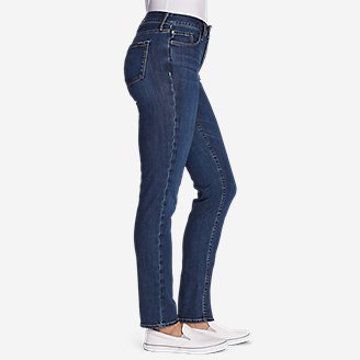 Thumbnail View 3 - Women's Elysian Slim Straight High Rise Jeans