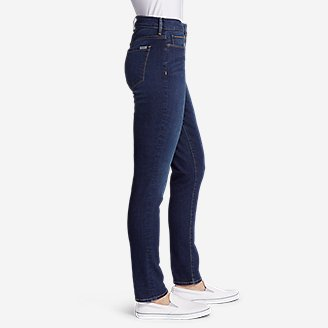 Thumbnail View 3 - Women's StayShape® High-Rise Slim Straight Jeans