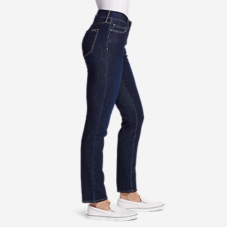 Thumbnail View 3 - Women's Voyager Slim Straight Jeans - Slightly Curvy