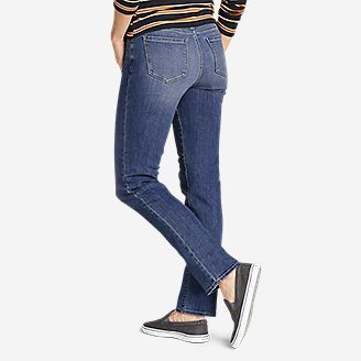 Thumbnail View 2 - Women's Voyager Slim Straight Jeans - Slightly Curvy
