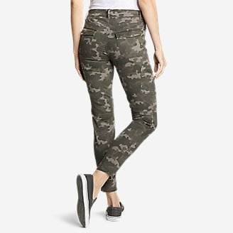 Thumbnail View 3 - Women's Elysian Skinny Cargo Pants - Color, Slightly Curvy
