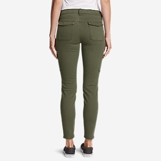Thumbnail View 2 - Women's Elysian Skinny Cargo Pants - Color, Slightly Curvy