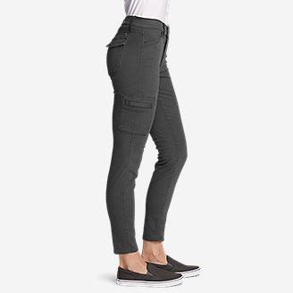 Thumbnail View 3 - Women's Elysian Skinny Cargo Pants - Color, Slightly Curvy