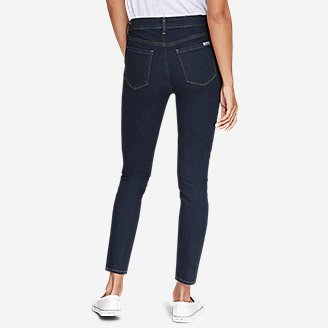 Thumbnail View 2 - Women's StayShape® High-Rise Skinny Jeans - Slightly Curvy