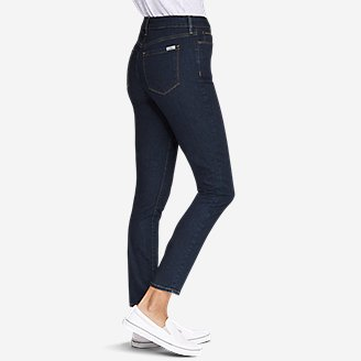 Thumbnail View 3 - Women's StayShape® High-Rise Skinny Jeans - Slightly Curvy