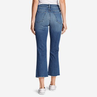 Thumbnail View 2 - Women's Elysian Kick Flare Jeans - Slightly Curvy High-Rise