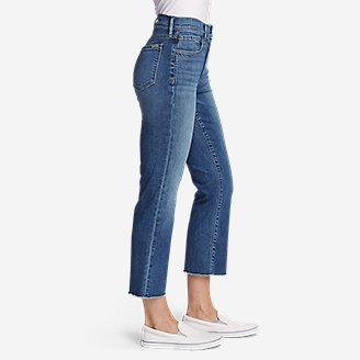 Thumbnail View 3 - Women's Elysian Kick Flare Jeans - Slightly Curvy High-Rise