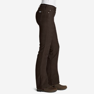 Thumbnail View 3 - Women's Curvy Bootcut Cord Pants