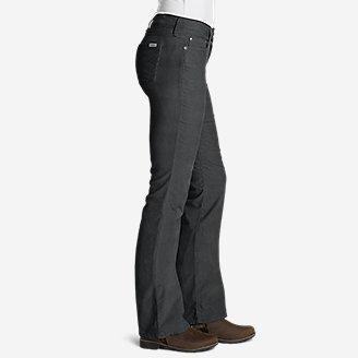Thumbnail View 3 - Women's Curvy Bootcut Cord Pants