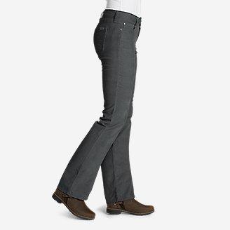 Thumbnail View 2 - Women's Curvy Bootcut Cord Pants