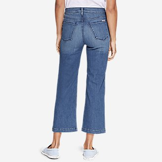 Thumbnail View 2 - Women's Elysian Wide-Leg High-Rise Jeans