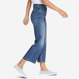Thumbnail View 3 - Women's Elysian Wide-Leg High-Rise Jeans