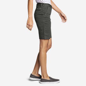 Thumbnail View 3 - Women's Stretch Legend Wash Bermuda Shorts
