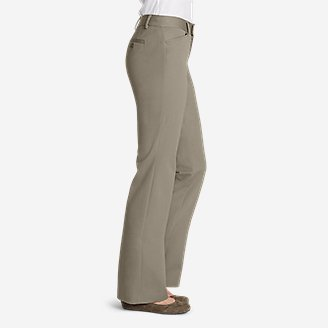 Thumbnail View 3 - Women's StayShape® Twill Trousers - Curvy
