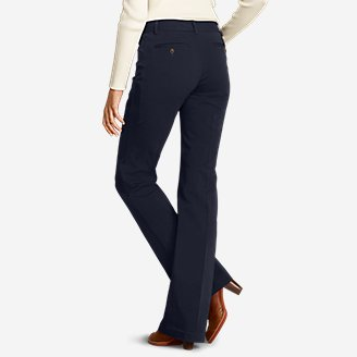 Thumbnail View 2 - Women's StayShape® Twill Trousers - Curvy