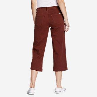 Thumbnail View 3 - Women's Elysian High Rise Wide-Leg Twill Jeans