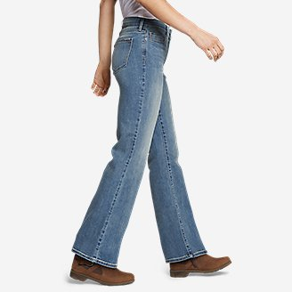 Thumbnail View 3 - Women's Voyager High-Rise Boot-Cut Jeans - Curvy
