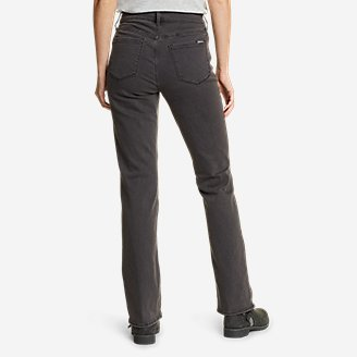 Thumbnail View 2 - Women's Voyager High-Rise Boot-Cut Jeans - Curvy