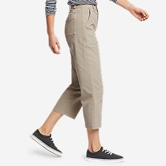 Thumbnail View 3 - Women's Marina High-Rise Wide-Leg Utility Pants