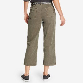 Thumbnail View 2 - Women's Marina High-Rise Wide-Leg Utility Pants