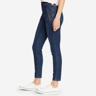 Thumbnail View 3 - Women's Elysian 1/4-Top Zip High-Rise Skinny Jeans