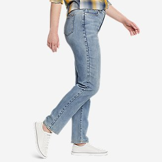 Thumbnail View 3 - Women's Voyager High-Rise Jeans - Slim Straight