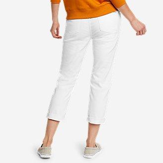 Thumbnail View 2 - Women's Boyfriend Denim Crop Jeans
