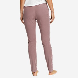 Thumbnail View 2 - Women's Voyager High-Rise Chino Slim Pants