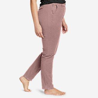 Thumbnail View 3 - Women's Voyager High-Rise Chino Slim Pants