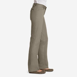 Thumbnail View 3 - Women's StayShape® Twill Trousers - Slightly Curvy