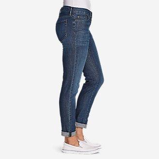 Thumbnail View 2 - Women's Boyfriend Jeans - Slim Leg