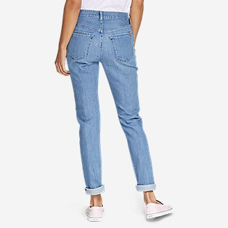 Thumbnail View 2 - Women's Boyfriend Jeans - Slim Leg