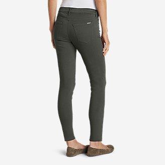 Thumbnail View 2 - Women's Elysian Twill Skinny Jeans - Slightly Curvy
