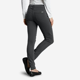 Thumbnail View 2 - Women's Elysian Twill Skinny Jeans - Slightly Curvy