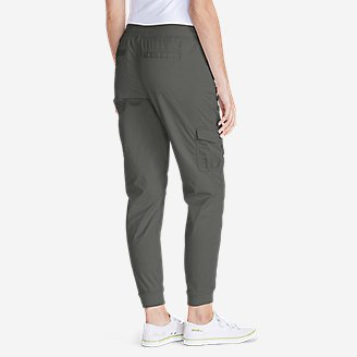 Thumbnail View 2 - Women's Kick Back Twill Jogger Pants