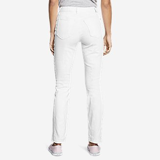 Thumbnail View 2 - Women's StayShape® Straight Leg Jeans - Slightly Curvy