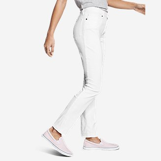 Thumbnail View 3 - Women's StayShape® Straight Leg Jeans - Slightly Curvy