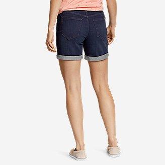 Thumbnail View 2 - Women's Boyfriend Denim Shorts