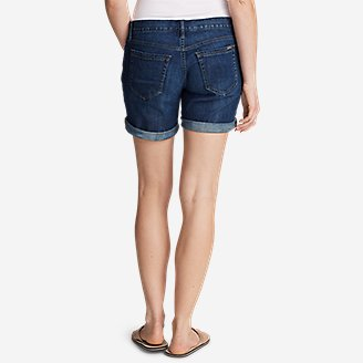 Thumbnail View 2 - Women's Boyfriend Denim Shorts