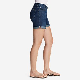 Thumbnail View 3 - Women's Boyfriend Denim Shorts