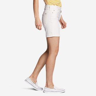 Thumbnail View 3 - Women's Boyfriend Denim Shorts