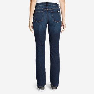 Thumbnail View 2 - Women's StayShape® Straight Leg Jeans - Curvy