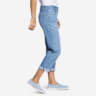 Thumbnail View 2 - Women's Boyfriend Cropped Jeans