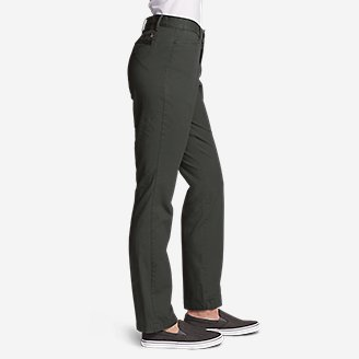 Thumbnail View 3 - Women's Stretch Legend Wash Pants - Curvy Fit