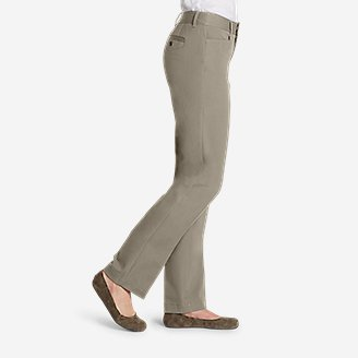 Thumbnail View 2 - Curvy StayShape® Stretch Twill Pants