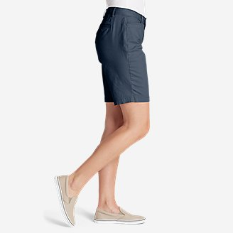 Thumbnail View 2 - Women's Stretch Legend Wash Shorts - Curvy Fit, 10""