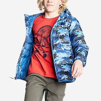 Thumbnail View 3 - Kids' Cirruslite Down Hooded Jacket