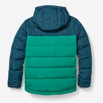 Thumbnail View 3 - Boys' Classic Down Hooded Jacket