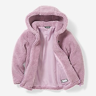 Thumbnail View 2 - Girls' Quest Sherpa Fleece Jacket