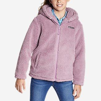 Thumbnail View 3 - Girls' Quest Sherpa Fleece Jacket